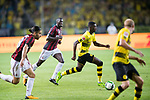 Borussia Dortmund Midfielder Ousmane Dembele (C) in action during the International Champions Cup 2017 match between AC Milan vs Borussia Dortmund at University Town Sports Centre Stadium on July 18, 2017 in Guangzhou, China. Photo by Marcio Rodrigo Machado / Power Sport Images
