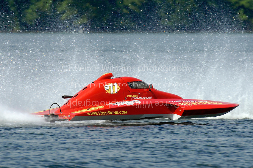 """Tom Vielhauer, S-11 """"Unfinished Business"""" (2.5 Litre Stock hydroplane(s)"""