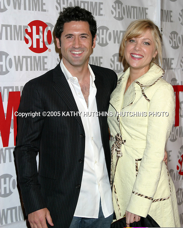 "JENNIFER ASPEN AND FIANCE DAVID O'DONNELL.SCREENING OF SHOWTIME'S NEW SERIES.""FAT ACTRESS"".CINERAMA DOME.HOLLYWOOD, CA.FEBRUARY 23, 2005.©2005 KATHY HUTCHINS /HUTCHINS PHOTO..."