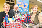 BAZAAR: With some of the goodies on offer at next Sunday's Christmas Bazaar in the CYMS Hall in Killorglin, l-r: Maria Hayes, Pat Healy, Mona Joy.   Copyright Kerry's Eye 2008