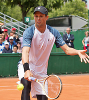 Paris, France, 22 June, 2016, Tennis, Roland Garros, Doubles : Bob Bryan (USA)<br /> Photo: Henk Koster/tennisimages.com