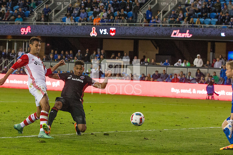 San Jose, CA. - Saturday, April 2, 2016: The San Jose Earthquakes tied D.C. United 1-1 at Avaya Stadium.