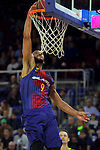 League ACB-ENDESA 2017/2018 - Game: 12.<br /> FC Barcelona Lassa vs Herbalife Gran Canaria: 77-88.<br /> Adam Hanga.