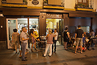 Europe/Espagne/Pays Basque/Guipuscoa/Goierri/Ordizia: bar à Tapas: Martinez [Non destiné à un usage publicitaire - Not intended for an advertising use]