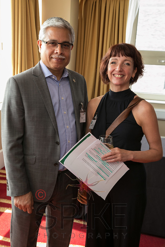 Hardev Singh of EAS and Laura Browne of Buiness in the Community