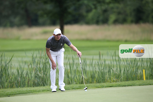 A flawless round of 65 put Lasse Jensen (DEN) on a 3-way share of the top of the leaderboard during Round One of the 2015 BMW International Open at Golfclub Munchen Eichenried, Eichenried, Munich, Germany. 25/06/2015. Picture David Lloyd | www.golffile.ie