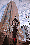 Charlotte NC - Future Statue in Uptown Charlotte NC by Raymond Kaskey