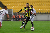 Wellington Phoenix&rsquo; Sarpreet Singh in action during the A-League - Wellington Phoenix v Western Sydney Wanderers at Westpac Stadium, Wellington, New Zealand on Saturday 3 November  2018. <br /> Photo by Masanori Udagawa. <br /> www.photowellington.photoshelter.com