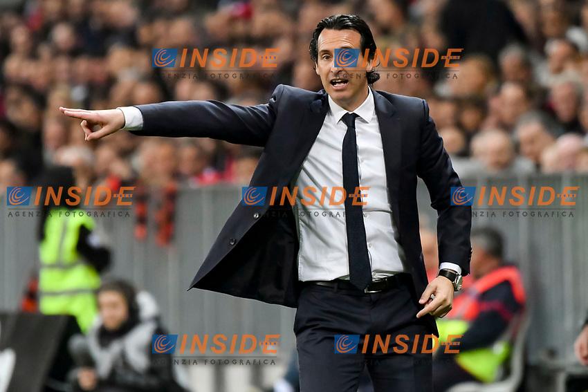 Unai Emry (Entraineur du Paris Saint Germain)<br /> Nizza 30-04-2017 <br /> Nice - Paris Saint Germain Ligue 1 2016/2017  <br /> Foto Philippe LECOEUR/ Panoramic/insidefoto
