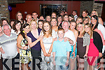 Key to the door.---------------.Michelle James(front centre)from Ballyheigue celebrated her 21st birthday in Ruiris bar the Square Tralee last Saturday night with all her family and friends.   Copyright Kerry's Eye 2008