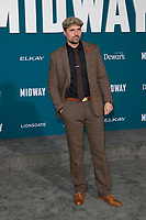 "LOS ANGELES - NOV 5:  Brett Dalton at the ""Midway"" Premiere at the Village Theater on November 5, 2019 in Westwood, CA"