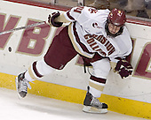 Matt Greene - Boston College defeated Merrimack College 3-0 with Tim Filangieri's first two collegiate goals on November 26, 2005 at Kelley Rink/Conte Forum in Chestnut Hill, MA.