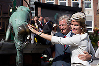 King Philippe of Belgium & Queen Mathilde of Belgium_'Joyous Entry ' in Wavre _ Belgium