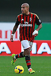 Nigel De Jong in action during the Serie A football match Chievo Verona vs AC Milan at Verona, on November 10, 2013.