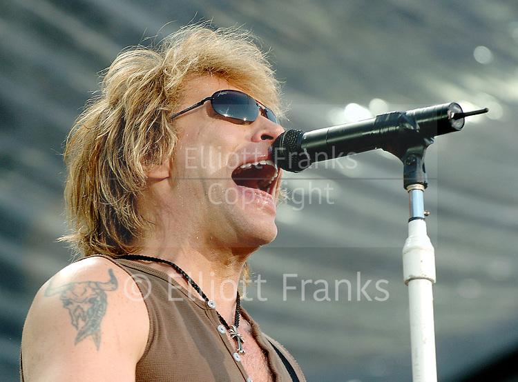Bon Jovi <br /> &quot;Have a nice day&quot; World Tour <br /> at Milton Keynes National Bowl, Great Britain<br /> June 10, 2006 <br /> <br /> Jon Bon Jovi