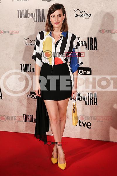 "Natalia de Molina during the premiere of the film ""Tarde para la Ira"" in Madrid. September 08, 2016. (ALTERPHOTOS/Rodrigo Jimenez) /NORTEPHOTO.COM"