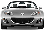 Straight front view of a 2010 Mazda Miata MX5