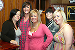 Leona McDonnell, Danielle O'Brien, Elizabeth Pentony, Emma McCluskey and Kim Farrell at the fundraiser for Tadhg Sheridan in McPhails...Photo NEWSFILE/Jenny Matthews.(Photo credit should read Jenny Matthews/NEWSFILE)....This Picture has been sent you under the condtions enclosed by:.Newsfile Ltd..The Studio,.Millmount Abbey,.Drogheda,.Co Meath..Ireland..Tel: +353(0)41-9871240.Fax: +353(0)41-9871260.GSM: +353(0)86-2500958.email: pictures@newsfile.ie.www.newsfile.ie.FTP: 193.120.102.198.