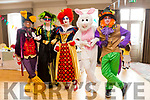 The Wonderland Characters at  the Kare 4 Kidz Charity  Easter Tea Party at the Ashe Hotel on Sunday
