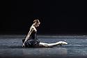 "Svetlana Zakharova, the Bolshoi's Prima and the first and only Russian Etpile at Teatro alla Scala, returns to the London Coliseum, with MODANSE, a new double bill produced by Muzarts. Zakharova is joined on stage by a cast of dancers from the Bolshoi Ballet, including Mikhail Lobukhin, Vaycheslav Lopatin, Denis Savin, Jacopo Tissi and Ana Turazashvili. The piece shown is: 'Come un Respiro"" (Like a Breath), choreographed by Mauro Bigonzetti, in its UK premiere. The dancers are: Svetlana Zakharova, Denis Savin, Jacopo Tissi, Mikhail Lobukhin, Vyacheslav Lopatin, Ana Turazashvili, Anastasia Stashkevich, Victoria Litvinova, Marfa Fyodorova, Tatiana Osipova, Anita Pudikova, Anna Zakaraya, Karim Abdullin, Alexei Gaynutdinov, Anton Gaynutdinov. Picture shows: Svetlana Zakharova."