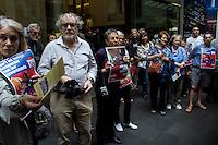 TPP Rally, Pitt Street Sydney 13.03.15