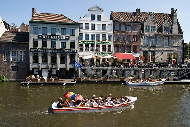 Belgium, Ghent, Belga Queen restaurant