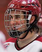Rence Coassin (Harvard - 17) - The Harvard University Crimson defeated the visiting Colgate University Raiders 6-2 (2 EN) on Friday, January 28, 2011, at Bright Hockey Center in Cambridge, Massachusetts.