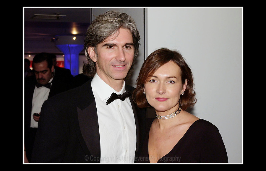 Damon Hill OBE, and wife Georgie - Autosports Awards 2002 - Grosvenor House Hotel - London - 1st December 2002