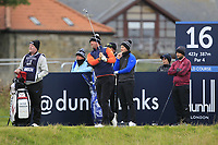 Peter Hanson (SWE) on the 16th tee during round 4 of the Alfred Dunhill Links Championship at Old Course St. Andrew's, Fife, Scotland. 07/10/2018.<br /> Picture Thos Caffrey / Golffile.ie<br /> <br /> All photo usage must carry mandatory copyright credit (&copy; Golffile | Thos Caffrey)