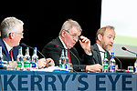 Mundy Hayes (Chairman Kerry Co-op) at the Kerry Co-op AGM at the Brandon hotel in Tralee on Wednesday.