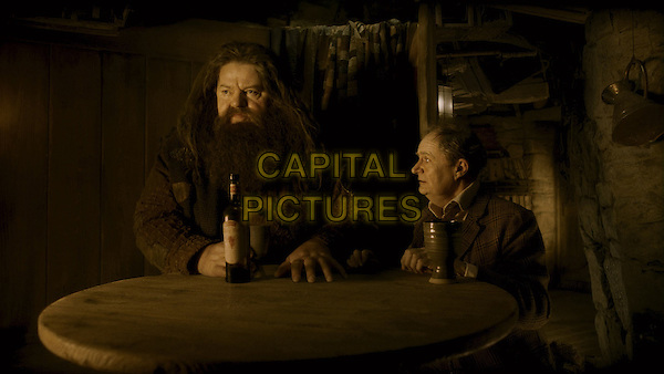 ROBBIE COLTRANE & JIM BROADBENT.in Harry Potter and the Half-Blood Prince.*Filmstill - Editorial Use Only*.CAP/FB.Supplied by Capital Pictures.