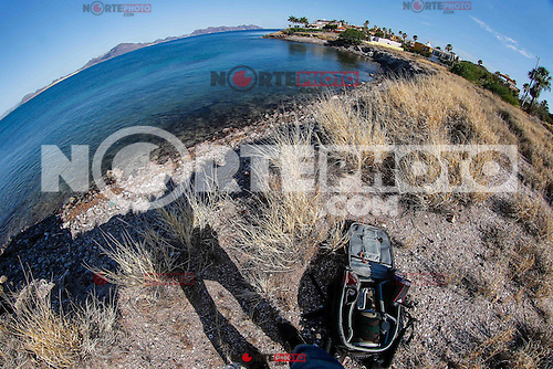 Recorrido por la la playa San Carlos Nuevo Guaymas, que forma parte de el Golfo de California  <br /> Foto: LuisGutierrez/NortePhoto.com
