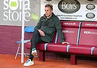 Istanbul Basaksehir's Manager Abdullah Avci<br /> <br /> Photographer Alex Dodd/CameraSport<br /> <br /> UEFA Europa League - Third Qualifying Round 2nd Leg - Burnley v Istanbul Basaksehir - Thursday 16th August 2018 - Turf Moor - Burnley<br />  <br /> World Copyright © 2018 CameraSport. All rights reserved. 43 Linden Ave. Countesthorpe. Leicester. England. LE8 5PG - Tel: +44 (0) 116 277 4147 - admin@camerasport.com - www.camerasport.com