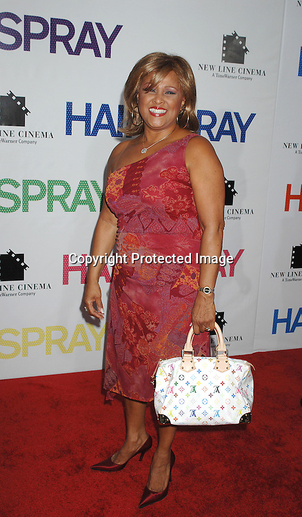 """Darlene Love..arriving at the New York Premiere of """"Hairspray"""" on         July 16, 2007 at The Ziegfeld Theatre. ..Robin Platzer, Twin Images......212-935-0770"""