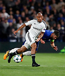 Qarabag's Dino Ndlovu in action during the champions league match at Stamford Bridge Stadium, London. Picture date 12th September 2017. Picture credit should read: David Klein/Sportimage