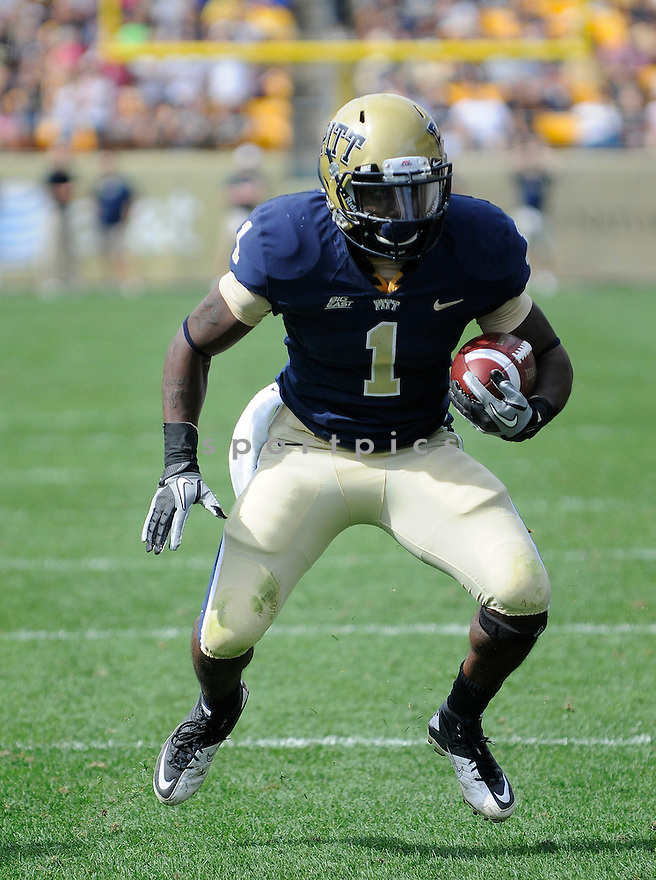 RAY GRAHAM, of Pitt, in action during the Panthers game against the New Hampshire Wildcats on September 11, 2010 in Pittsburgh, Pennsylvania...Pitt won the game 38-16..
