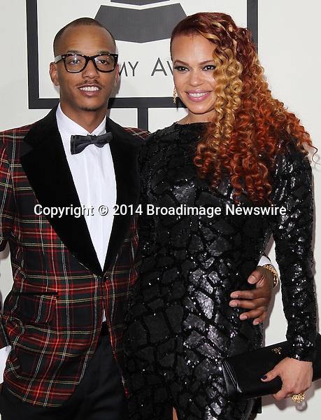 Pictured: Faith Evans<br /> Mandatory Credit &copy; Frederick Taylor/Broadimage<br /> 56th Annual Grammy Awards - Red Carpet<br /> <br /> 1/26/14, Los Angeles, California, United States of America<br /> <br /> Broadimage Newswire<br /> Los Angeles 1+  (310) 301-1027<br /> New York      1+  (646) 827-9134<br /> sales@broadimage.com<br /> http://www.broadimage.com