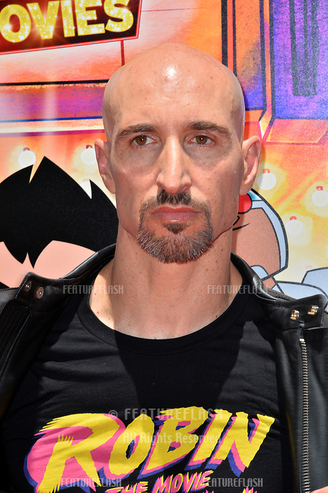 Scott Menville at the premiere for &quot;Teen Titans Go! to the Movies&quot; at the TCL Chinese Theatre, Los Angeles, USA 22 July 2018<br /> Picture: Paul Smith/Featureflash/SilverHub 0208 004 5359 sales@silverhubmedia.com
