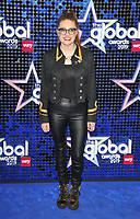 Jess Gillam at the Global Awards 2019, Hammersmith Apollo (Eventim Apollo), Queen Caroline Street, London, England, UK, on Thursday 07th March 2019.<br /> CAP/CAN<br /> &copy;CAN/Capital Pictures