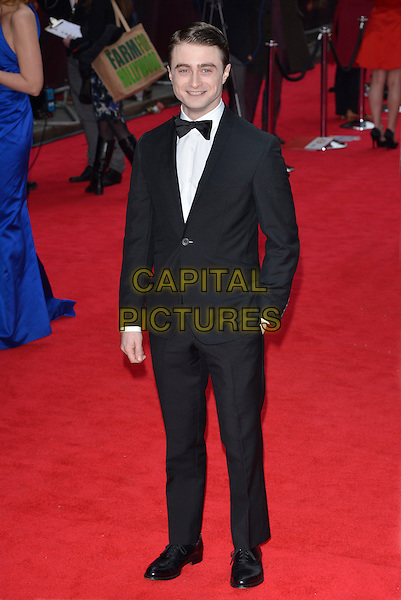 Daniel Radcliffe.The Olivier Awards 2013 at the Royal Opera House, Covent Garden, London, England..28th April 2013.full length black tuxedo white shirt .CAP/PL.©Phil Loftus/Capital Pictures