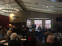 NWA Democrat-Gazette/TRACY M. NEAL Dan Kemp, the chief justice of the Arkansas Supreme Court was the speaker at Thursday's meeting of the Benton County Bar Association.