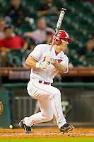 Zack Gibson #29 of the Houston Cougars follows through on his swing against the Tennessee Volunteers at Minute Maid Park on March 2, 2012 in Houston, Texas.  The Cougars defeated the Volunteers 7-4.  Brian Westerholt / Four Seam Images