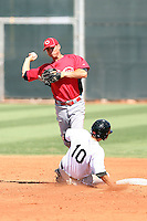 Devin Lohman - Cincinnati Reds - 2010 Instructional League.Photo by:  Bill Mitchell/Four Seam Images..