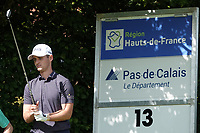 Conor O'Rourke (IRL) in action during the second round of the Hauts de France-Pas de Calais Golf Open, Aa Saint-Omer GC, Saint- Omer, France. 14/06/2019<br /> Picture: Golffile | Phil Inglis<br /> <br /> <br /> All photo usage must carry mandatory copyright credit (© Golffile | Phil Inglis)