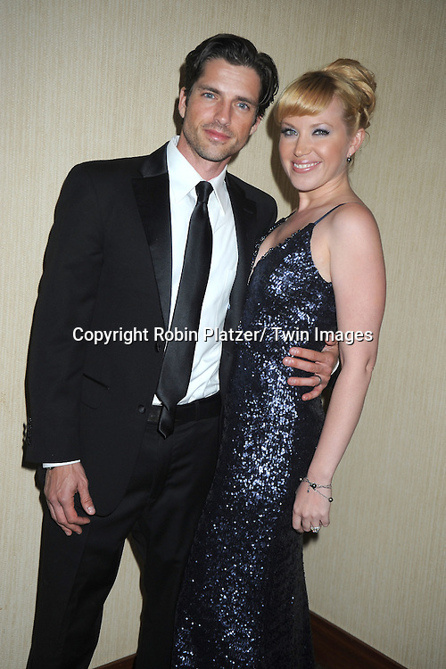 Scott Bailey and wie Adrienne Frantz attends the  39th Annual Daytime Emmy Awards CBS after party  on June 23, 2012 at the Beverly Hilton in Beverly Hills, California. The awards were broadcast on HLN.