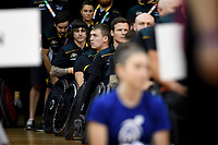 Opening Ceremony - Andrew Harrison (Aus)<br /> Australian Wheelchair Rugby Team<br /> 2018 IWRF WheelChair Rugby <br /> World Championship / Day 1<br /> Sydney  NSW Australia<br /> Sunday 5th August 2018<br /> &copy; Sport the library / Jeff Crow / APC