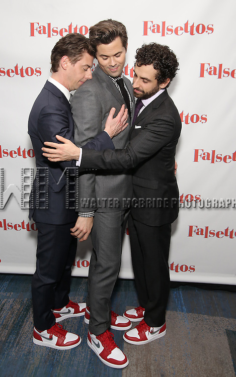 attends the Opening Night After Party for 'Falsettos'  at the New York Hilton Hotel on October 27, 2016 in New York City.