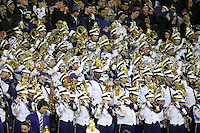 NOVEMBER 19:  Washington band members entertained fans before the game against ASU.  Washington defeated ASU 44-18 at the University of Washington in Seattle, WA