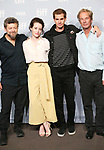 Andy Serkis, Claire Foy, Andrew Garfield and Jonathan Cavendish attends 'Breathe' photo call during the 2017 Toronto International Film Festival at The Tiff Bell Lightbox on September 12, 2017 in Toronto, Canada.