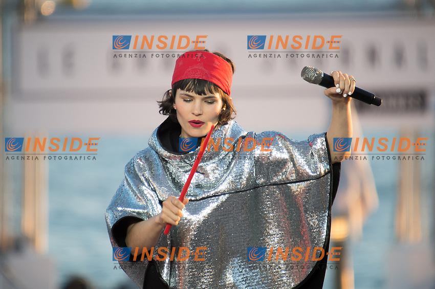 Olivia Merilahti, concert de The Do <br /> Festival del Cinema di Cannes 2015<br /> Foto Panoramic / Insidefoto